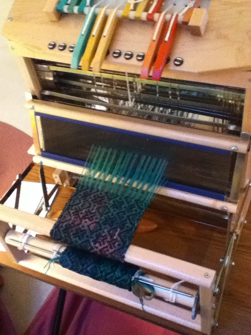 Project on the loom