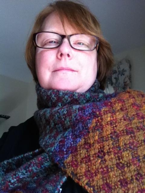 Cecily and the scarf